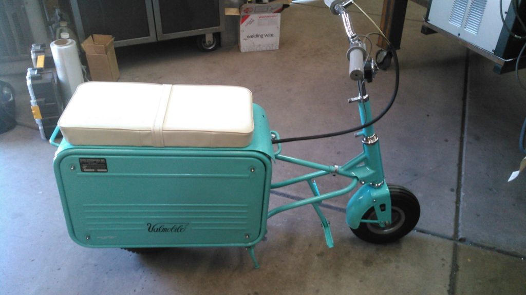 1960s Val mobile scooter. Reworked and sold.
